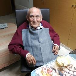 El gran 95 cumpleaños de D. Juan Cabellos