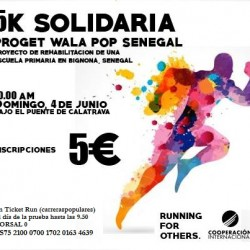 Carrera RUNNING FOR OTHERS. Domingo, 4 de junio a las 10hrs.