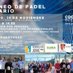 V Torneo de Pádel Solidario – 24 de noviembre